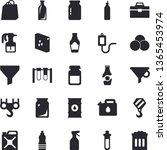 solid vector icon set   hook...   Shutterstock .eps vector #1365453974