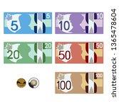 Canadian Style Money Bills  ...