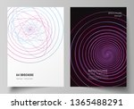 vector layout of a4 format...   Shutterstock .eps vector #1365488291