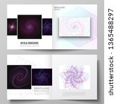 vector layout of two covers...   Shutterstock .eps vector #1365488297