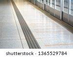 tactile paving for blind... | Shutterstock . vector #1365529784