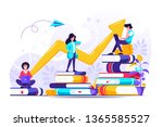 concept for web page  banner  ... | Shutterstock .eps vector #1365585527