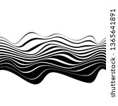 abstract black and white... | Shutterstock .eps vector #1365641891
