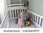 Plush Toys In Baby Crib Ready...