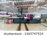 Industrial Cloth Cutting...
