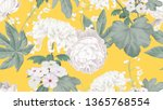 Botanical Seamless Pattern ...