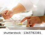 chef cooking  chef preparing... | Shutterstock . vector #1365782381