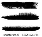 grunge paint roller . vector...   Shutterstock .eps vector #1365868841