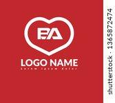 ba company linked letter logo...