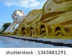 the huge reclining mya tha... | Shutterstock . vector #1365881291