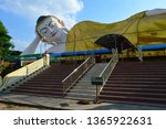 stairs to the huge reclining... | Shutterstock . vector #1365922631