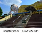stairs to the huge reclining... | Shutterstock . vector #1365922634