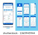 online e commerce app ui kit...