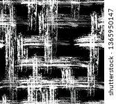 checkered seamless halftone... | Shutterstock .eps vector #1365950147