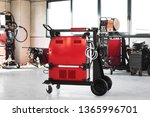 Red Machinery For Electric Arc...
