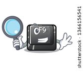 detective f9 button installed...   Shutterstock .eps vector #1366156541
