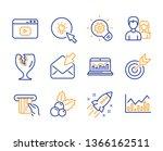 cogwheel  web analytics and... | Shutterstock .eps vector #1366162511