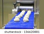 industrial conveyor for making... | Shutterstock . vector #136620881
