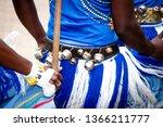 traditional dancer attire. | Shutterstock . vector #1366211777