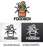 illustration of graphic sign... | Shutterstock .eps vector #1366234091