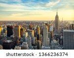 New York City Midtown Aerial...