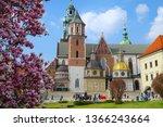 krakow cracow poland   9 april... | Shutterstock . vector #1366243664