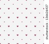 seamless geometric pattern.... | Shutterstock .eps vector #136626437