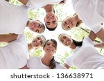 Group Of Women Standing In The...