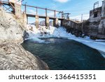 old hydro power station in... | Shutterstock . vector #1366415351