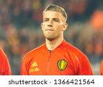 brussels  belgium   march 20 ...   Shutterstock . vector #1366421564