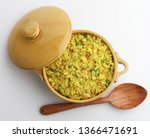 indian breakfast dish poha also ...