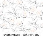 linear vector pattern ... | Shutterstock .eps vector #1366498187