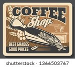 coffeeshop coffee brewing cafe... | Shutterstock .eps vector #1366503767