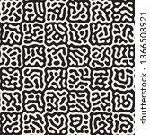 vector seamless trendy pattern. ...   Shutterstock .eps vector #1366508921