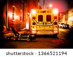 An Ambulance Car Parked On The...