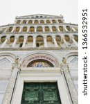 pisa cathedral  cattedrale di... | Shutterstock . vector #1366532951
