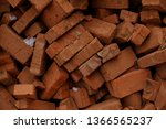pile of brick block used for...   Shutterstock . vector #1366565237