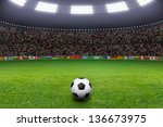 Sports Background   Soccer Bal...