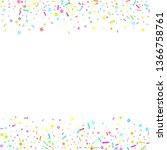 sprinkles grainy. cupcake... | Shutterstock .eps vector #1366758761