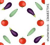 set of vegetables. healthy life.... | Shutterstock . vector #1366837541