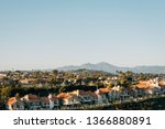 view of houses and hills from...   Shutterstock . vector #1366880891