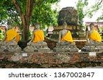 Wat Kasatathirat Worawihan temple in Ayutthaya, Thailand, Southeast Asia, Asia, 29. October 2005