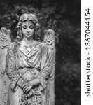 Angel Statue In Cemetery ...