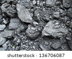 black coal | Shutterstock . vector #136706087