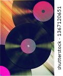 grunge retro style poster with...   Shutterstock . vector #1367120651