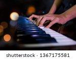 pianist musician performing... | Shutterstock . vector #1367175581