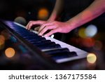 pianist musician performing... | Shutterstock . vector #1367175584