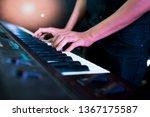 pianist musician performing... | Shutterstock . vector #1367175587