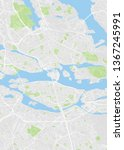 city map stockholm  color... | Shutterstock .eps vector #1367245991