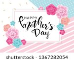 happy mother's day greeting... | Shutterstock .eps vector #1367282054